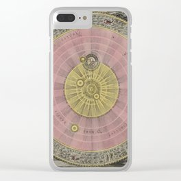 Celestial Planes as According to Copernicus 1708 Clear iPhone Case