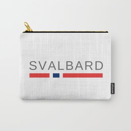Svalbard Norway Carry-All Pouch
