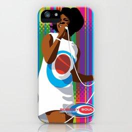 Gladys Subway Soul by Dawn Carrington iPhone Case