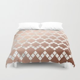 Copper & Marble 03 Duvet Cover