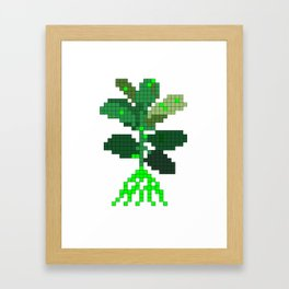 Plant Invader Framed Art Print