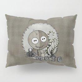 MOJO Gothic Voodoo Doll Folk Art Pillow Sham