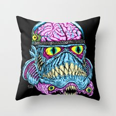 Monster Trooper Throw Pillow