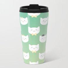 Kitten Metal Travel Mug