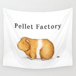 Pellet Factory - Guinea Pig Poop Wall Tapestry