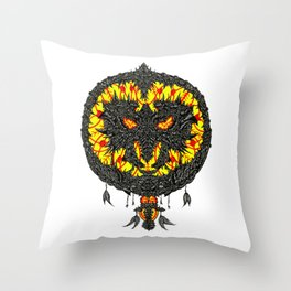 Conviction of the Dreamcatcher Throw Pillow