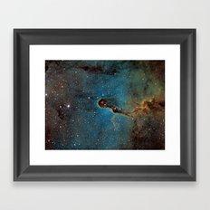 The Elephant Trunk Nebula Framed Art Print