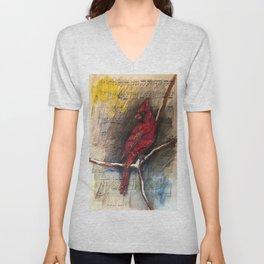 Cardinal 2 Unisex V-Neck