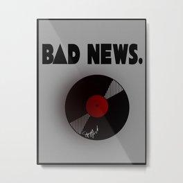 BD NEWS. Metal Print