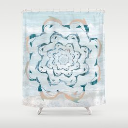 Dance of the dolphins Shower Curtain