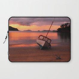 Beached yacht Laptop Sleeve