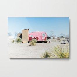 AHS Airstream: Marfa, Texas Metal Print