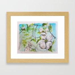 Cottage Lake Framed Art Print