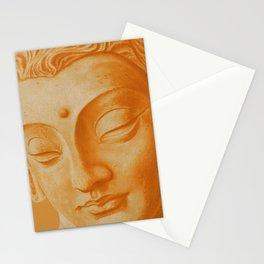 Siddharta Gautama oranje Stationery Cards