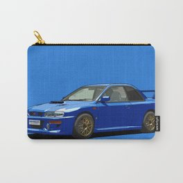 Subaru Impreza 22B STI Type UK Sonic Blue Carry-All Pouch
