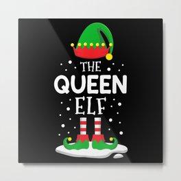 The Queen Elf Metal Print