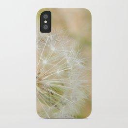 Dandilion iPhone Case