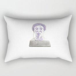Donald Glover Rectangular Pillow