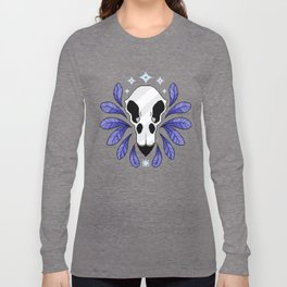 Bird Skull Long Sleeve T-shirt