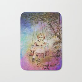 APPLE SLICE UNDER THE TREE Bath Mat