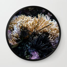 Understated Anemone Wall Clock
