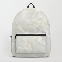 Cracked Crystal Marble Texture Backpack
