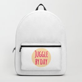 Juggle by Day Fun Juggling Gift Backpack