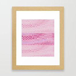 Kissable Pink Framed Art Print