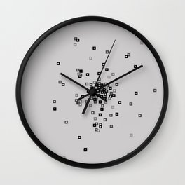 Square affect Wall Clock