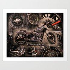 FXSB Breakout  Art Print