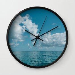 Hawaii Water VIII Wall Clock