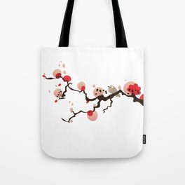 China Blossom Tote Bag