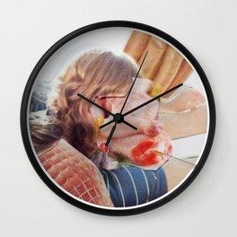 Meat Herz Lady Wall Clock