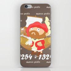 Marco Polo iPhone & iPod Skin