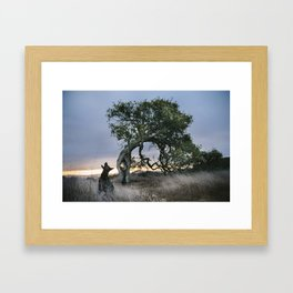 Howl by The Labs & Co. Framed Art Print
