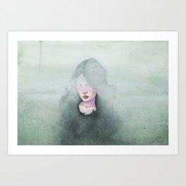 Tåkeheim Art Print