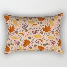 Pumpkin Spice - Sweater Weather Rectangular Pillow
