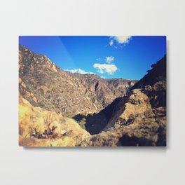 Santa Monica Mountains Metal Print
