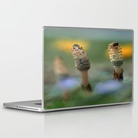 guardians Laptop & iPad Skins featuring The Guardians by Robin Curtiss