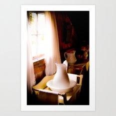 Wash Basin Art Print