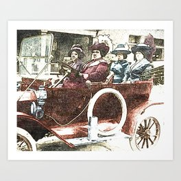 Black Wealth - Madam C.J. Walker Black History Month Art Sarah Breedlove Art Print