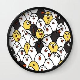 Chicken cluck Wall Clock