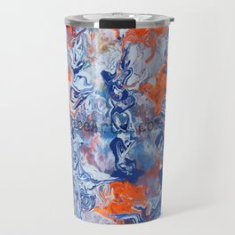 Devil In Dust Prays To The Lord TheVibeArts.com Travel Mug