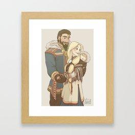 Family Origins - Kristoff Framed Art Print