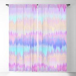 Pastel Rainbow Tie Dye Print Blackout Curtain