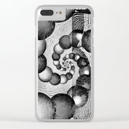 STRANDED/An Abstract Clear iPhone Case