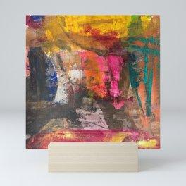 Scrape Away Mini Art Print