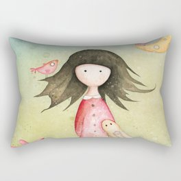 Gabriel's tales: Moon Melody Rectangular Pillow