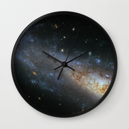 Spiral Galaxy NGC 1448 Wall Clock
