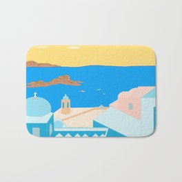 In Greece Bath Mat